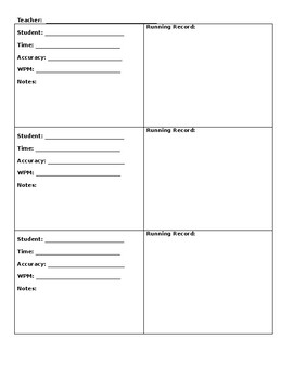 K-2 Guided Reading Lesson Plan Template