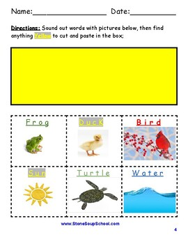 """K - 2 Guided Reading - Level A """"Creating Colors"""" For Students with ADD/ADHD"""