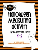 {K-2} Halloween Non-Standard Unit Measuring Activity