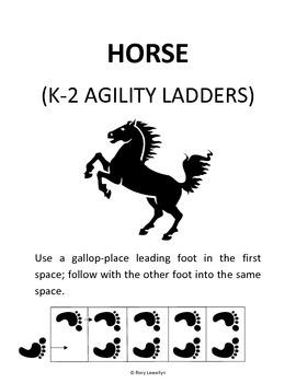 K-2 Horse (Agility Ladder)