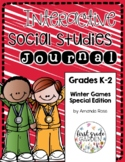 K-2 Interactive Social Studies Journal Special Edition: Winter Games {Editable}