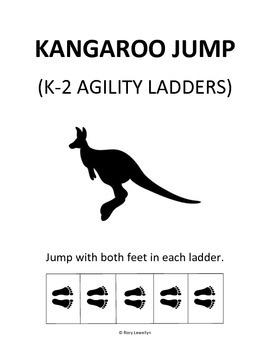 K-2 Kangaroo Jump (Agility Ladder)