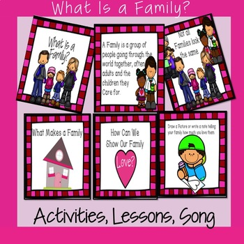 K - 2 Lesson- What is a Family?
