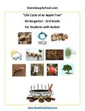 K - 2 Life Cycle of Apple Tree - Autism Spectrum - Reading - Science