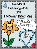 Listening and Following Directions -Spring