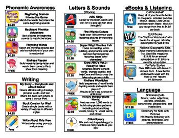 K-2 Literacy App Brochure