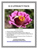 K-2 Literacy Bundle: Book Study, Original Story, Literacy Checklist & Posters