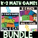 K-2 MATH GAMES-BUNDLE