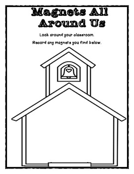 K-2 Magnet Unit First Grade Worksheet/ Activities/ Assessments