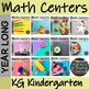 K-2 Math Centers Year Long Bundle