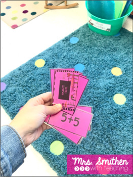 K-2 Math Fact Flash Cards to 20