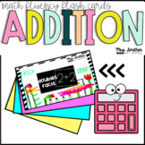 Addition Math Fact Flash Cards - Addition within 100 - Math Fact Fluency