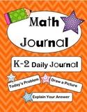 K-2 Math Journal