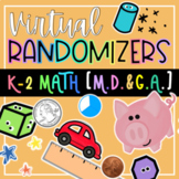 K-2 Math-Measuring, Time, Geometry Virtual Randomizer Vide