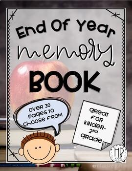 K-2 Memory Book: No Prep!