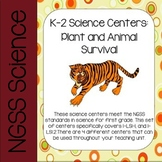 K-2 NGSS Science Centers: Plant and Animal Survival