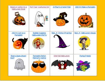 K-2 Online Halloween Games