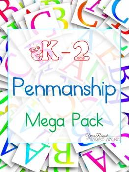 K-2 Penmanship Mega Pack