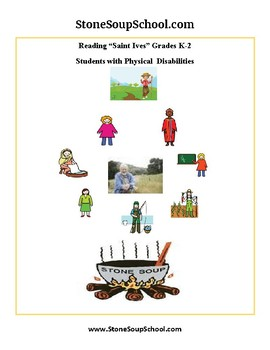 K - 2 Physical Disabilities - Reading - As I Was Going to St Ives