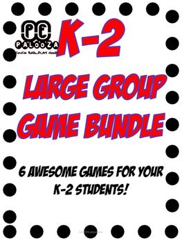 K-2 Physical Education Large Group Games Bundle