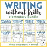 Elementary Writing Workshop Resources Bundle | Teaching Wi