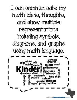 K-2 Process Standard Posters