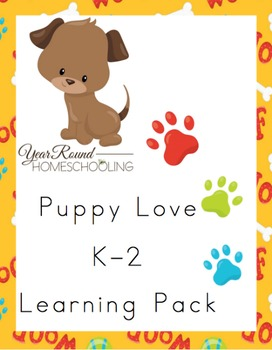 K-2 Puppy Learning Pack