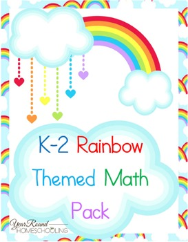 K-2 Rainbow Math Pack