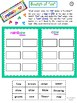 "K-2 ""Rainbows and Sunshine"" - Spring Literacy Activities"