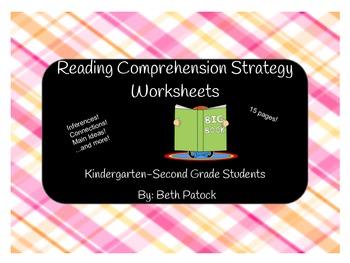 K-2 Reading Comprehension Worksheets