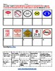 K - 2 Danger Signs - Life Skills - Students with Speech and Language Impairments