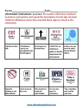 K - 2 Reading - Indoor Signs - for Gifted and Talented Students - Visual Aid