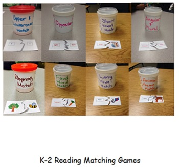 K-2 Reading Matching Games