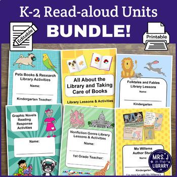 K-2 Response Activity Booklet and Lesson Plan Units BUNDLE