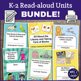 K-2 Read-aloud Activity Booklet and Lesson Plan Units BUNDLE