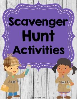 Scavenger Hunt Activities