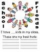 K-2 School Memory Book