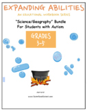 3 - 5th Grade: Science/Geography Bundle for students with Autism