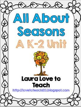 K-2 Seasons Mini Unit