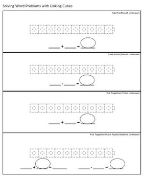 K-2 Solving Word Problems