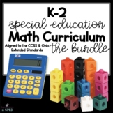 K-2 Special Education Math Curriculum Bundle