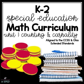 K-2 Special Education Math Curriculum: Unit 1 Counting and Cardinality