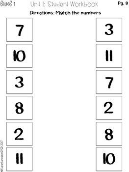 K-2 Special Education Math Curriculum Unit 2: Base 10