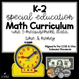 K-2 Special Education Math Curriculum Unit 6: Measurement