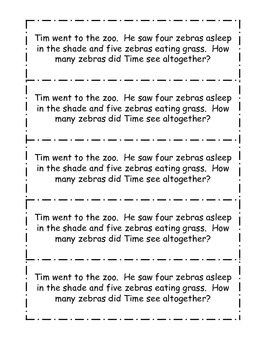 K-2 Spring Math Journal Prompts