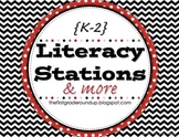 Literacy Stations Posters & Worksheets