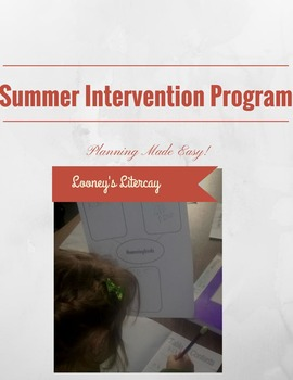 K-2 Summer Intervention Program