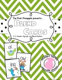 K-2 Super Cute 36 Blend and Digraph Posters/Wall Cards