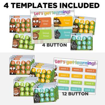 K-2 Technology Computer Lab Lesson Plans: Forest I Simple Computer Templates