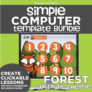 K-2 Technology Computer Lab Lesson Plans: Forest I Simple